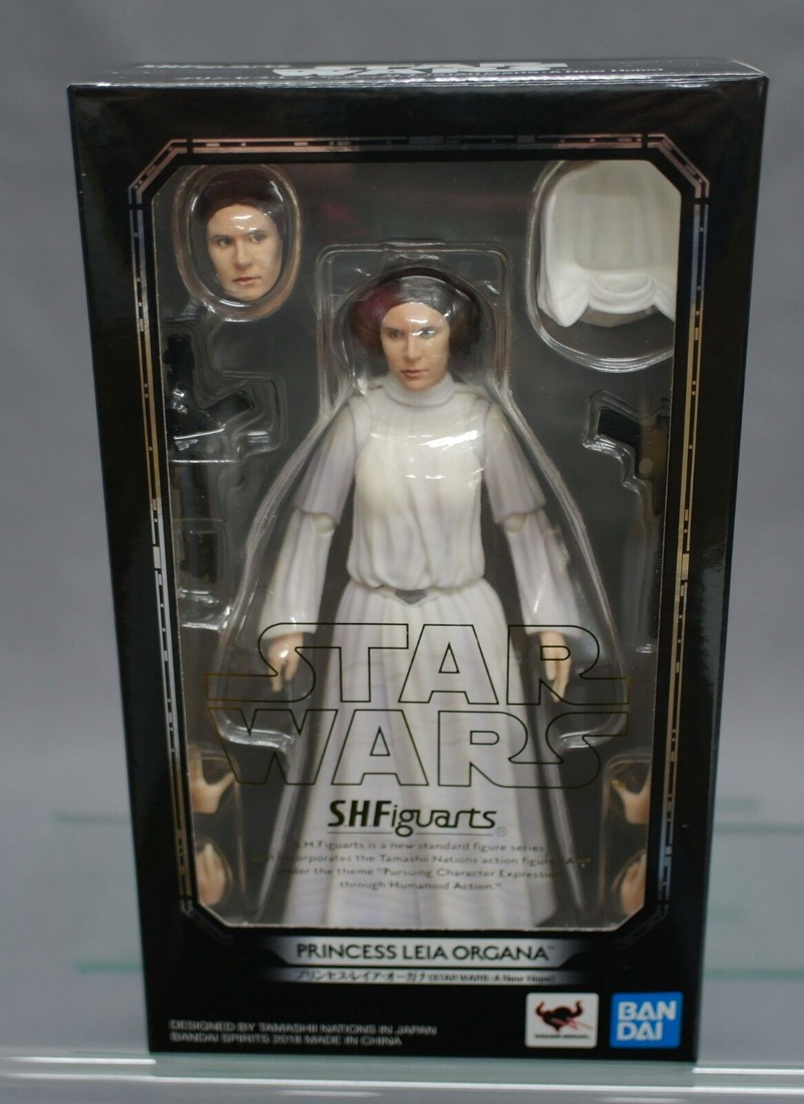 SH S.H. Figuarts Star Wars Princess Leia Organa (A New Hope) Bandai japan NEW