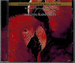 Details about AMAZON RAINFOREST - BEAUTIFUL SOUNDS OF NATURE - MINT CD