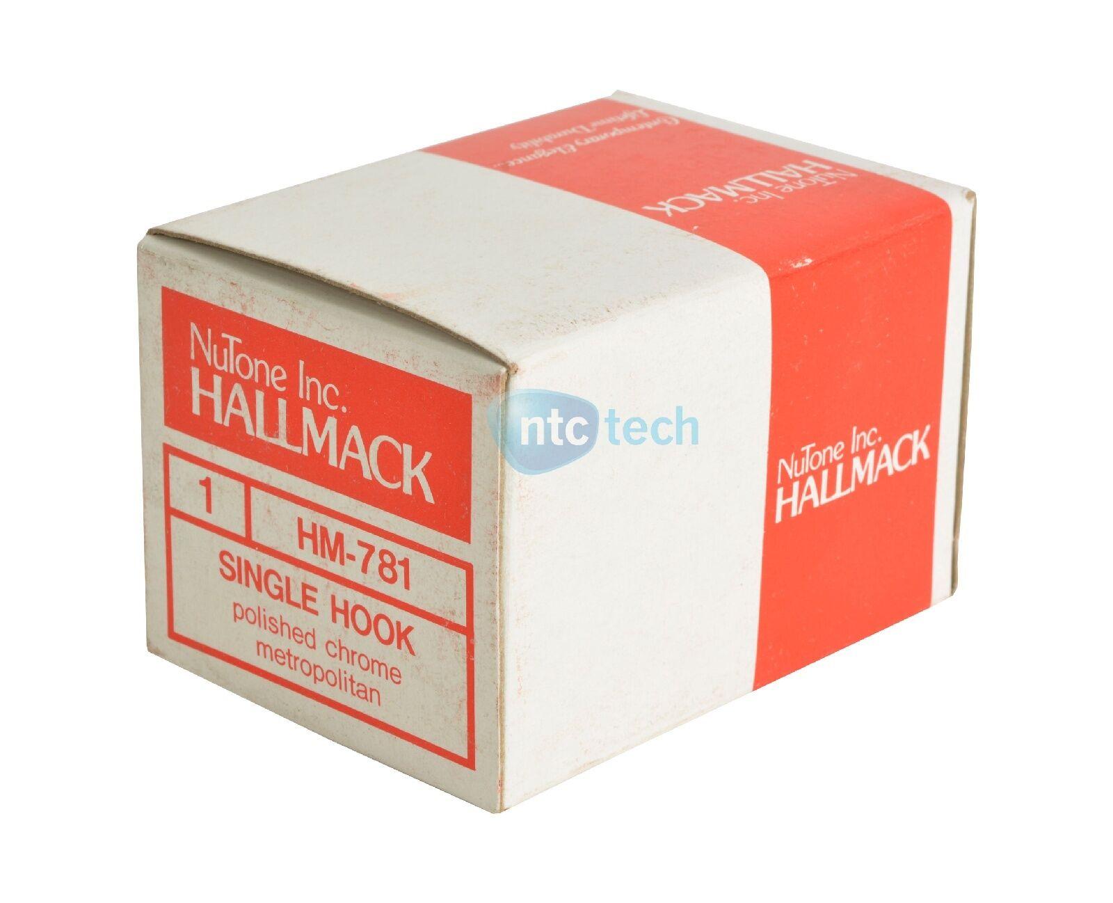 NuTone HM-781 Single Hook - New