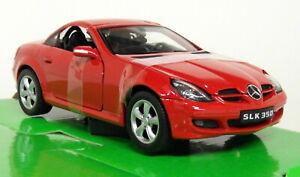 Nex-Models-1-24-27-Scale-Mercedes-Benz-SLK-350-Red-Diecast-model-car