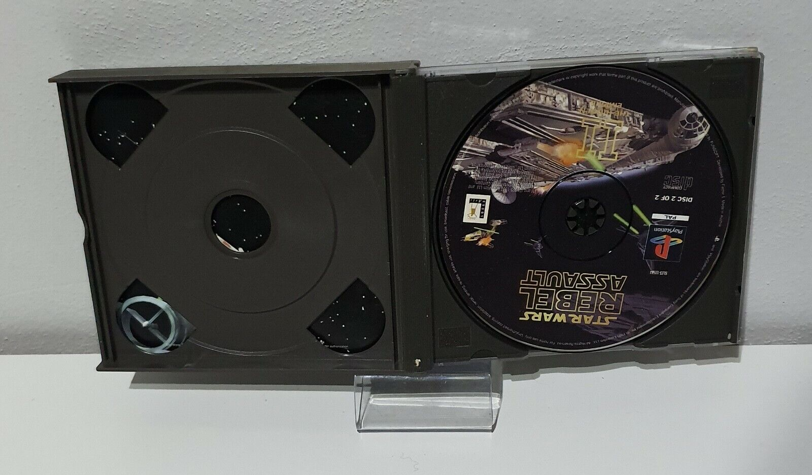 Playstation 1-Star Wars Rebel Assault II The - Occasion StarWars