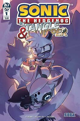 SONIC THE HEDGEHOG TANGLE /& WHISPER #1 FOURDRAI VARIANT IDW COMICS GAME SEGA