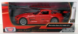 Motor-Max-1-24-Scale-Diecast-73356-Mercedes-Benz-SLS-AMG-GT3-Red