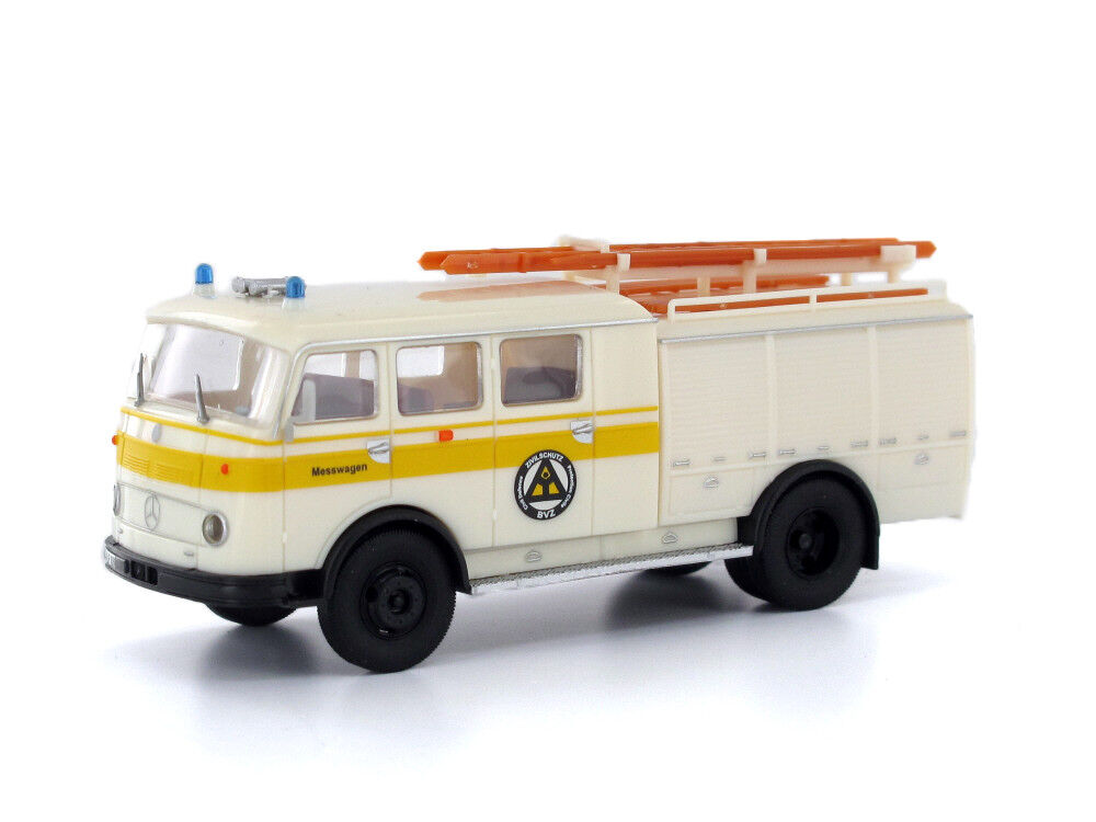 Heico HC2037 H0 LKW Mercedes Pullman TLF 16 Zivilschutz  | Rabatt