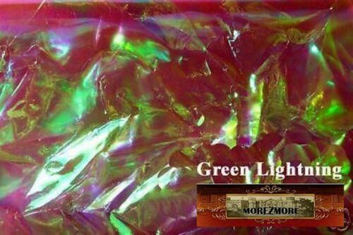 M00337 MOREZMORE Angelina Fantasy Film CRYSTAL GREEN LIGHTNING Bondable 50/'