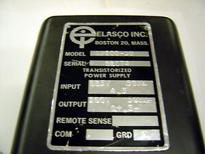ELASCO-BF200-50-Tube-Transformer-Lot-of-1