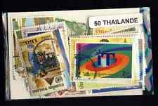 Thailande - Thailand 50 timbres différents