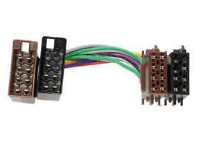 chrysler crossfire iso stereo head unit harness adaptor wiring loom rh ebay co uk