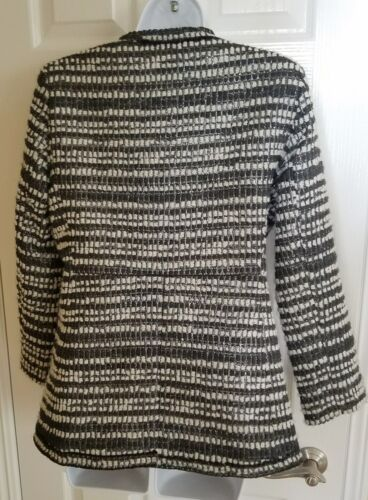 Size Tweed owned Olivia Medium Alice Condition M In Pre ~ Great silver Black qtXwxnx4B