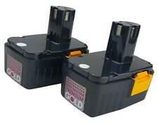 2 Pack - Power Tool Craftsman 15.6V 1900MAH 11136, 27135, 27160, 27197 Battery