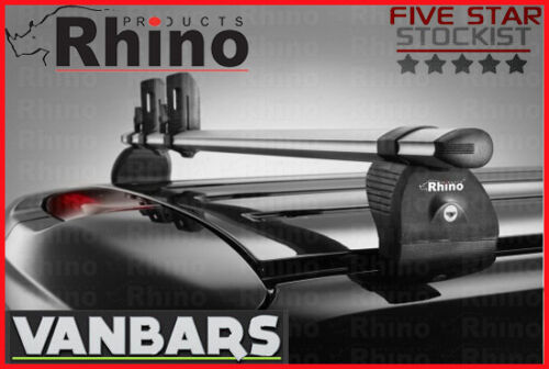 Renault Trafic 2015 /> Low Roof 3 Bar Rhino KammBar™ Roof Rack Bar System VA3KS