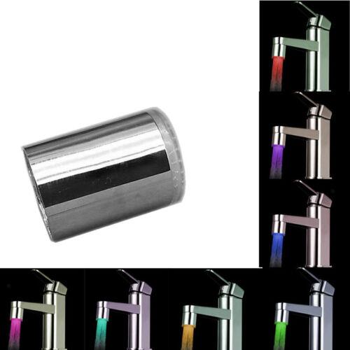 Küchenspüle Change Water Glow Wasserstrahl Badezimmer LED Wasserhahn