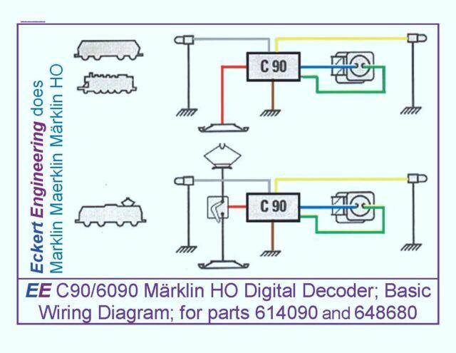 marklin 614090 c90 decoder ebay trailer lights wiring-diagram marklin wiring diagrams #35