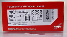 Herpa LKW  084376  Fahrgestell MAN TGX / TGS 3-achs Inhalt: 2 Stück
