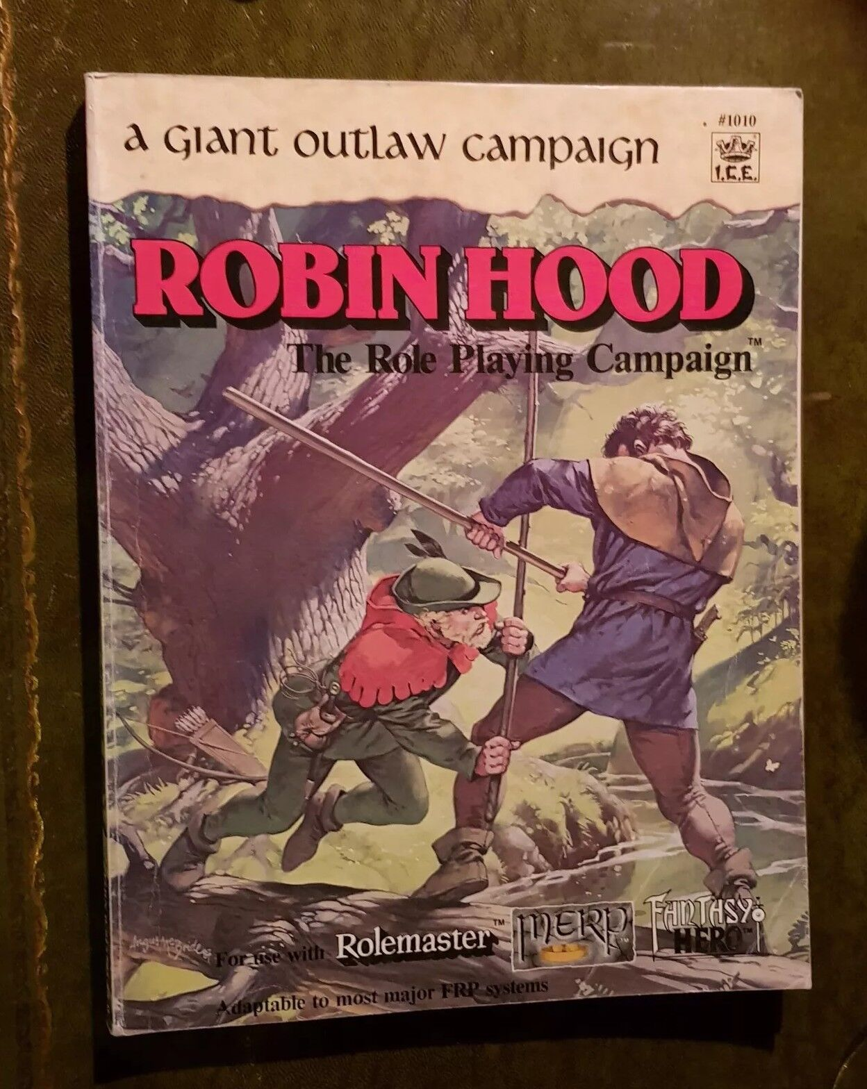 ROBIN HOOD CAMPAIGN - ROLEMASTER I.C.E. 1987 IRON CROWN RPG MERP ROLEPLAY OUTLAW