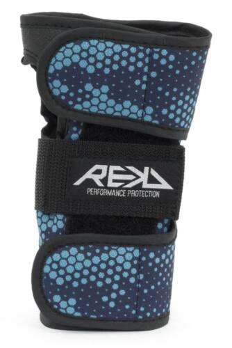 REKD Wrist Guard Handgelenkschoner Paar blau NEU 106216