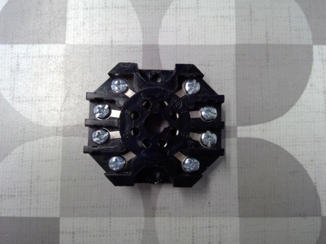 NEW NO BOX * CUSTOM CONNECTOR RB08 SOCKET RELAY