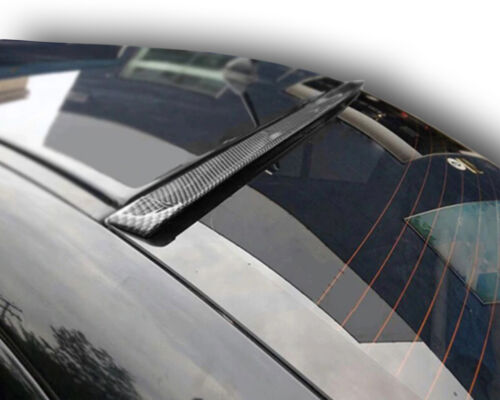 Carbon Lack Dachspoiler Heck Scheiben Blende Dach roof spoiler für Ford Meteor