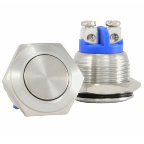 Latching Fashion 16mm Push Button Starter Switch Momentary Switchs ON//OF