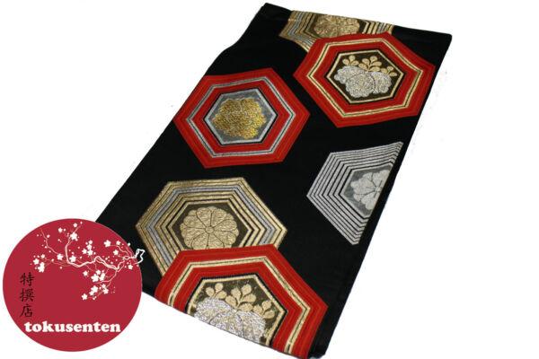 Activo Kimono Yukata Obi Japanese Genuine Ceinture Japonaise Silk Soie Made In Japan