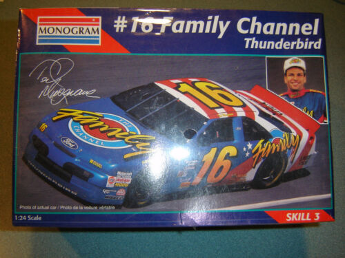 Monogramm #16 Ted Musgrave Familie Kanal Ford 1//24 Modellauto Set Fctry