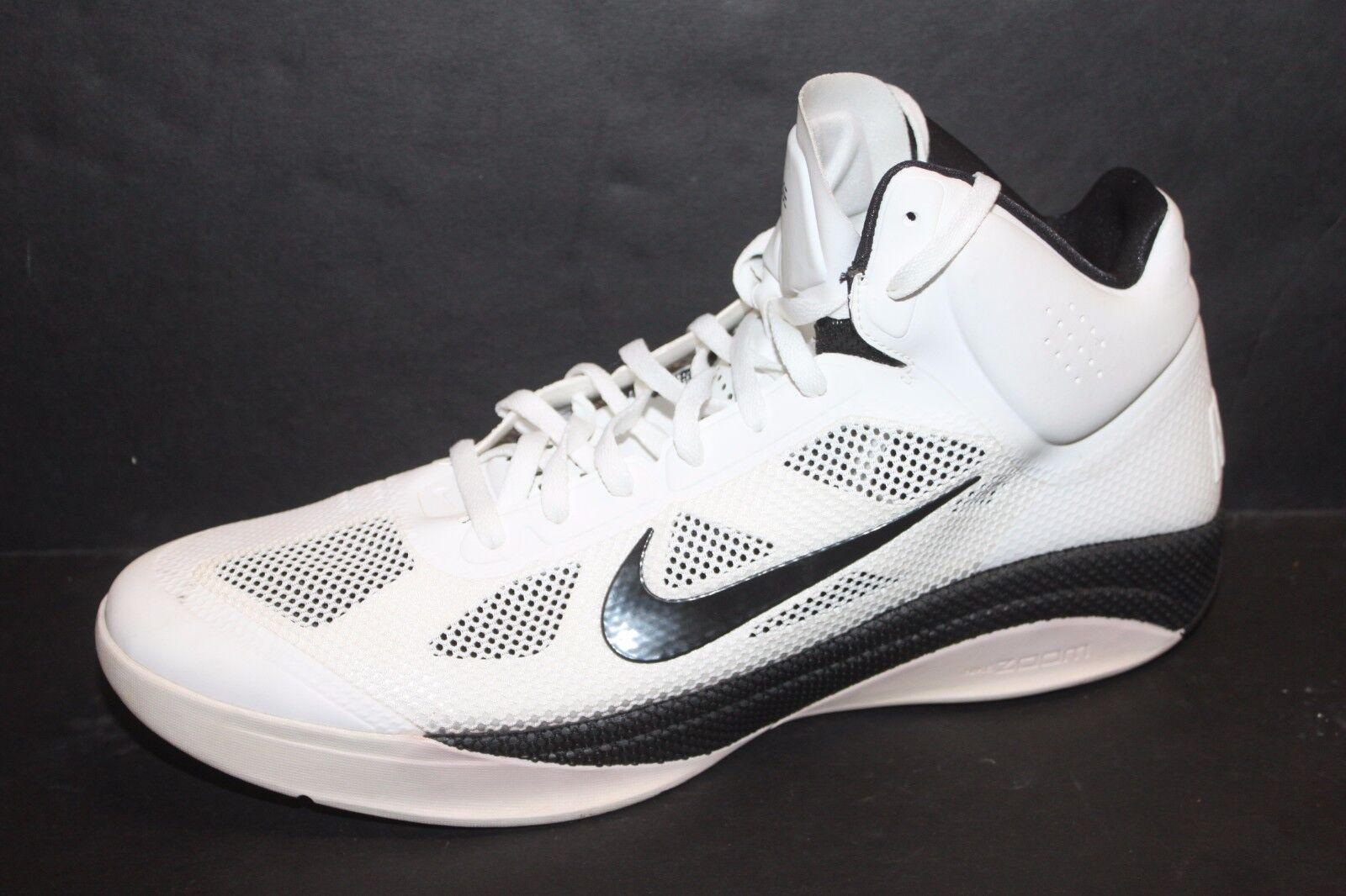 Nike Hyperfuse 2018 White/Black 407623-100 Men's Price reduction