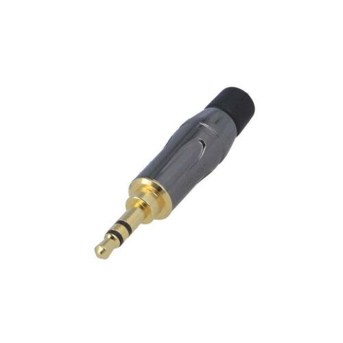 Ks3pc-au conector jack 3,5mm macho estéreo precisamente para tuberías Amphenol