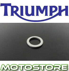 TRIUMPH-800-BONNEVILLE-ALL-MODELS-GENUINE-SUMP-WASHER-2001-2008-ENGINE-DRAIN