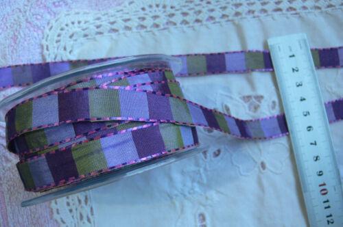 3 y 5 metros 6 Diseño Elección De Estilo Tonos Violeta Y Verde 10 15 y 38mm de ancho 2