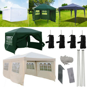Image is loading Large-Medium-Small-Pop-Up-Gazebo-Sidewall-Tent-  sc 1 st  eBay & Large Medium Small Pop Up Gazebo Sidewall Tent Waterproof For Garden ...