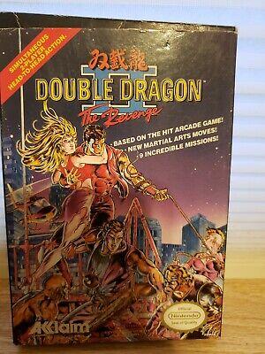 Nes Double Dragon 2 The Revenge Cib Complete Acclaim Video Game Ebay