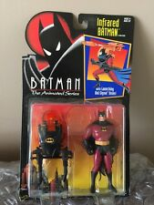 VINTAGE! STILL SEALED! 1993 Kenner Batman: The Animated Series Infrared Batman