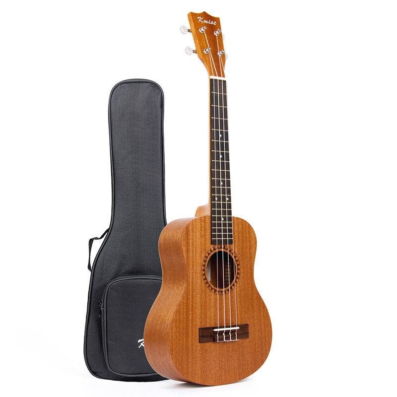 Tenor Ukulele Ukelele 26 inch Acoustic Hawaii Guitar with Big Bag Case for Gift