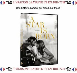DVD-Film-A-Star-is-Born-Bradley-Cooper-Lady-Gaga-Drame-Musique
