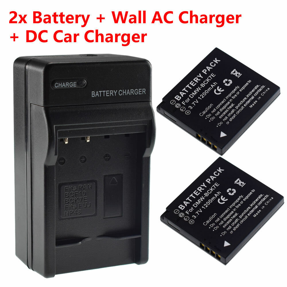 Battery or Wall Charger for NCA-YN101F NCA-YN101G NCA-YN101H NCA-YN101J DMW-BCK7