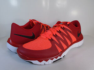 f6ebc1673be8 NIKE MENS FREE TRAINER 5.0 V6 Gym Red Black-Bright Crimson-White ...