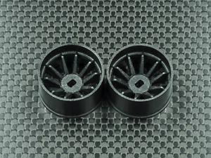 W1 WHC006-1 GL Racing RWD R10 Machine Cut Carbon Rim