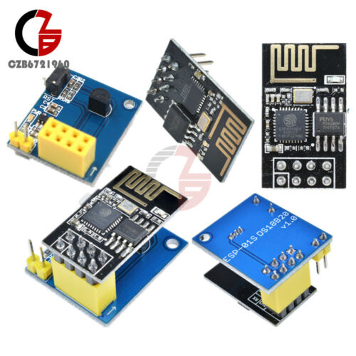 ESP-01//01S ESP8266  WIFI Wireless Transceiver DS18B20 Temperature Sensor Module