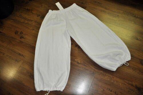4xl Kiss bianco taglia 4 3xl Lagenlook Lino palloncino Pantaloni 54 Marlene Myo 56 buco a e Tq4nwXZ8