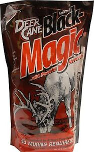 4-5-lb-Evolved-Habitats-BLACK-MAGIC-DEER-attractant-mix-bait-powder-lick-instant