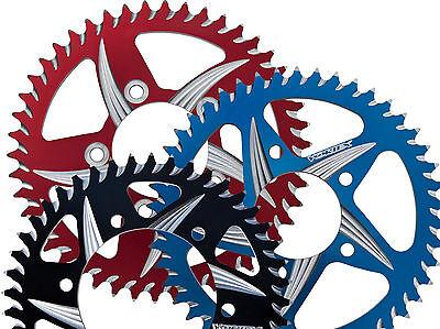 KAWASAKI 2013 NINJA 300 VORTEX  CAT5 520 REAR SPROCKET 35-54 BLUE BLACK RED