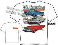 El Camino T Shirt Chevy Shirt Muscle Car Apparel Tee 1968 1969 1970 1971 1972