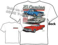 El Camino T Shirt Chevy Shirt Muscle Car Apparel Tee 1968 1969 1970 1971 1972