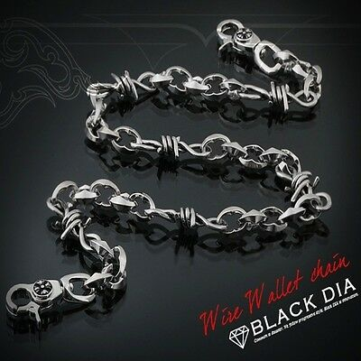 Guntwo Korean Mens Fashion Wallet Chains - Biker, Hip Hop WIre Chain C2215 US