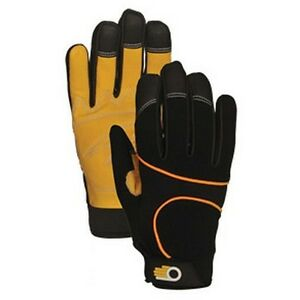 BELLINGHAM MENS SYNTHETIC LEATHER WORK GLOVE C7330