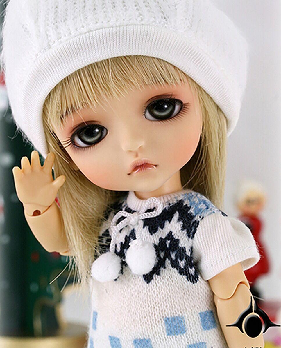 1 8 BJD Muñeca especial ver. lea-Gratis Cara Maquillaje + Gratis ojos neutral bronceado de la piel