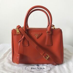 09690bf4a700 86dc9 d09ce; new style image is loading prada saffiano leather mini tote  arancio orange 9740b d0d4f