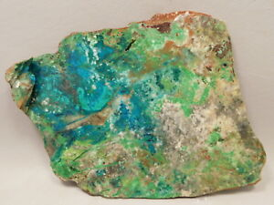 Parrot-Wing-Chrysocolla-Malachite-Unpolished-Stone-Lapidary-Slab-Cabbing-Rock-6