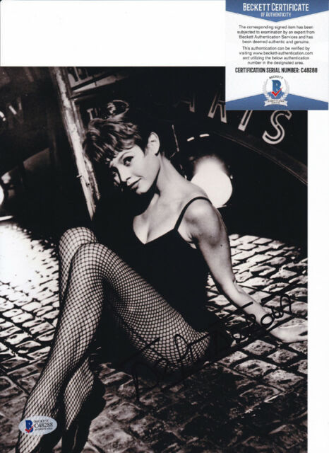Brigitte Bardot Sexy Actress Signed Autograph 8x10 Photo Beckett BAS COA #7