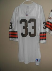 lowest price 1804b 410ba Details about CLEVELAND BROWNS GAME USED FOOTBALL JERSEY